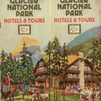 Glacier National Park: Hotels & Tours, cover.
