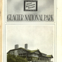 Hotels and Tours: Glacier National Park, cover.