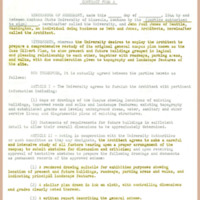 Contract Form A, page 1