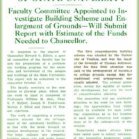 May Extend Campus of State University, page 1<br />