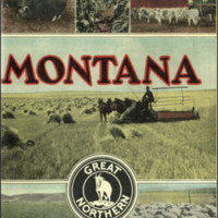 Montana: Land of Independence, cover.