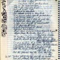 Draft of For All the Sad Rain, October 2, 1978