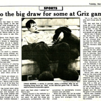 Otto the Big Draw for some at Griz Games, page 5.