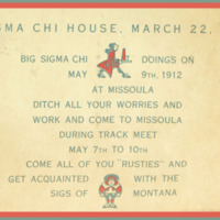 Big Sigma Chi Doings Invite
