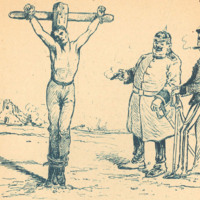 La Tyrannie des Kommandanturs, page 8. (The Tyranny of the Kommandanturs)
