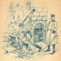 La Tyrannie des Kommandanturs, page 9. (The Tyranny of the Kommandanturs)