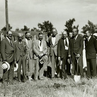 Student Union groundbreaking.