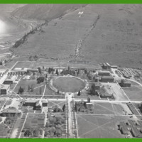 University of Montana, aerial photograph<br />