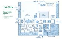 UC Floor Plans, first floor.