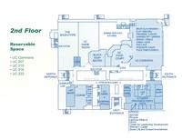 UC Floor Plans, second floor.