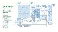 UC Floor Plans, third floor.