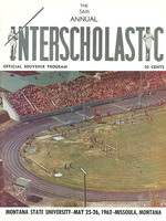 Fifty-Sixth Annual Interscholastic Meet Program, cover
