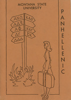 Panhellenic Handbook, cover, page 16, 17 and 27<br />